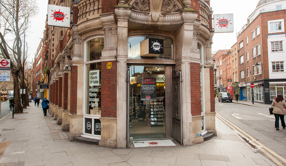 Fopp Store in Covent Garden, London