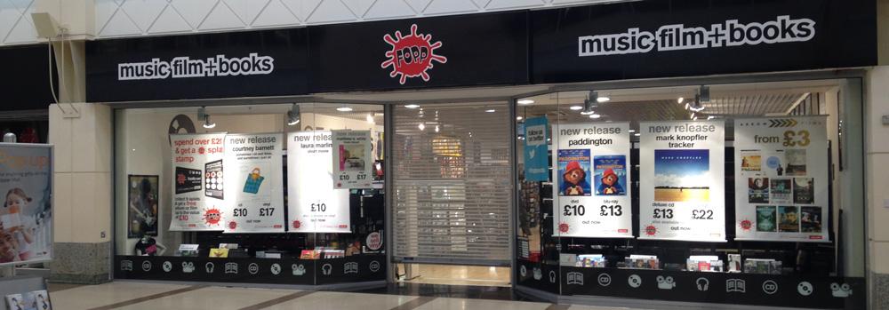 Fopp Store in Nottingham