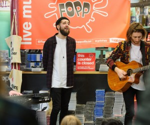 Eliza and the Bear. FOPP, Covent Garden, London.