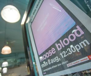 MOOSE BLOOD AT FOPP OXFORD, UK